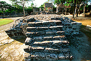 MEXICO, COZUMEL, MAYAN San Gervasio; shrine of Ix Chel