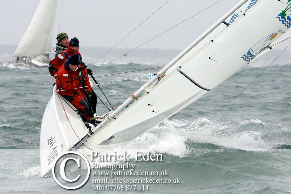Zhik 105 3231, PELICAN RACING, SB3, Holidays.com, GRE 3251, J P Morgan, Round the Island Race, 2011, Cowes, Isle of Wight, Photographs © Patrick Eden