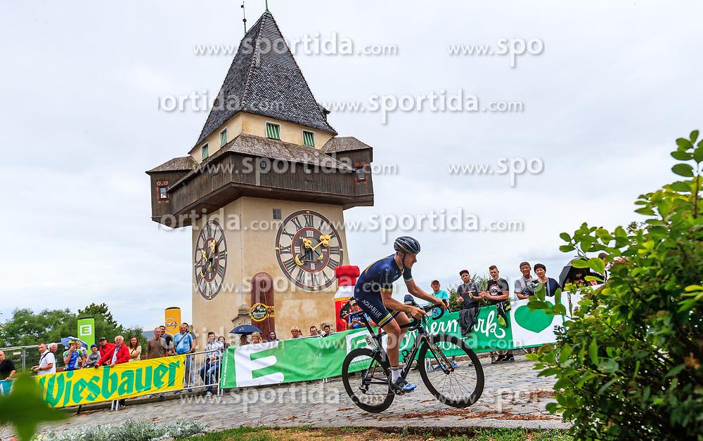 02.07.2017, Graz, AUT, Ö-Tour, Österreich Radrundfahrt 2017, 1. Etappe, Prolog, im Bild Matthew Brammeier (IRL, Aqua Blue Sport) // during Stage 1, Prolog of 2017 Tour of Austria. Graz, Austria on 2017/07/02. EXPA Pictures © 2017, PhotoCredit: EXPA/ JFK