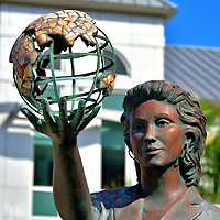 Aspiration Monument in George Town, Grand Cayman<br />