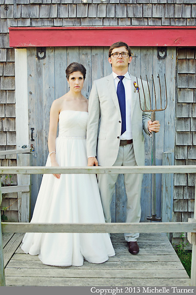 Wolfe's Neck Farm Wedding.  Images by Maine Wedding Photographer Michelle Turner.