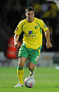 Doncaster - Tuesday September 14th, 2010: Norwich City's Andrew Crofts  in action during the NPower Championship match at Keepmoat Stadium, Doncaster. (Pic by Dave Howarth/Focus Images)