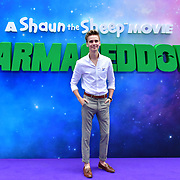 Joe Sugg attend the Shaun the Sheep Movie: Farmageddon, at ODEON LUXE on 22 September 2019,  London, UK