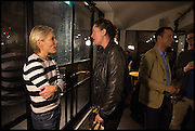 EMILY KING; CARAGH THURAGH; , Frieze party, ACE hotel Shoreditch. London. 18 October 2014