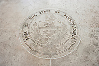 Seal of Pennsylvania in Fort Bonifacio; Manila; Philippines
