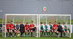NEWPORT, WALES - Sunday, May 31, 2015: Players during the Football Association of Wales' National Coaches Conference 2015 at Dragon Park FAW National Development Centre. (Pic by David Rawcliffe/Propaganda)