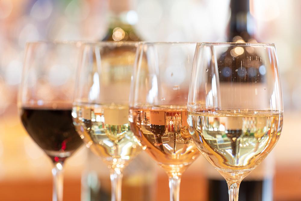 Wine Tasting, Macari Vineyard, Mattituck, New York,  Long Island, North Fork