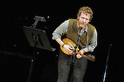 Glen Hansard performs at The Music of R.E.M. at Carnegie Hall, a tribute concert to benefit musical education programs for underprivileged youth.