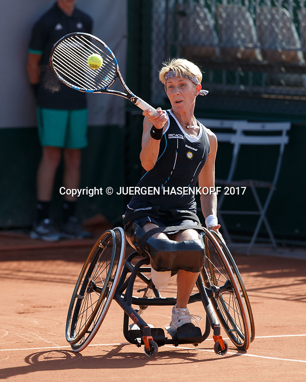 SABINE ELLERBROCK (GER), Wheelchair Tennis, Rollstuhl<br /> <br /> Tennis - French Open 2017 - Grand Slam / ATP / WTA / ITF -  Roland Garros - Paris -  - France  - 8 June 2017.