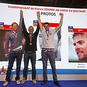 Podium Proto championnat de France de course au large
