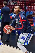 Curtis Jerrells<br /> A X Armani Exchange Olimpia Milano - Banco di Sardegna Dinamo Sassari<br /> Legabasket LBA Serie A 2019-2020<br /> Sassari, 16/11/2019<br /> Foto L.Canu / Ciamillo-Castoria