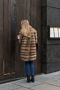 London, England, UK, February 5 2018 - Hide restaurant in the Mayfair area, owned by Russian millionaire Yevgeny Chichvarkin.