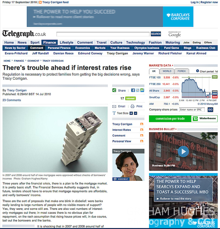 Telegraph.co.uk Website. All rights reserved.