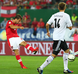 11.09.2012, Ernst Happel Stadion, Wien, AUT, FIFA WM Qualifikation, Oesterreich vs Deutschland, im Bild Andreas Ivanschitz, (AUT, #6)  // during the FIFA World Cup Qualifier Match between Austria (AUT) and Germany (GER) at the Ernst Happel Stadion, Vienna, Austria on 2012/09/11. EXPA Pictures © 2012, PhotoCredit: EXPA/ Thomas Haumer