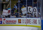 KELOWNA, CANADA - OCTOBER 04:  CIBC Promotion at the Kelowna Rockets game on October 04, 2017 at Prospera Place in Kelowna, British Columbia, Canada.  (Photo By Cindy Rogers/Nyasa Photography,  *** Local Caption ***