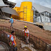 Biomuseo in the Cause way of Amador, Panama City, Panama
