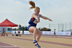 03/08/2017; O'Connell, Esme, F20, GBR at 2017 World Para Athletics Junior Championships, Nottwil, Switzerland