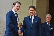20180918 - Il premier Conte riceve il cancelliere austriaco Kurz