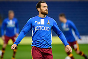 Bradford City midfielder Romain Vincelot (6) during the EFL Sky Bet League 1 match between Oxford United and Bradford City at the Kassam Stadium, Oxford, England on 12 September 2017. Photo by Dennis Goodwin.