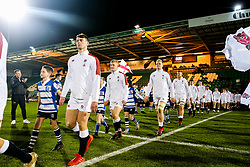 George Barton of England U20 - Rogan/JMP - 21/02/2020 - Franklin's Gardens - Northampton, England - England U20 v Ireland U20 - Under 20 Six Nations.