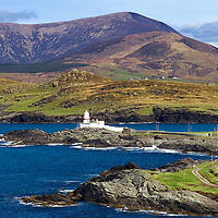 Irish Coastline Valentia Island Lighthouse - Ring of Kerry - Ireland  / vl022