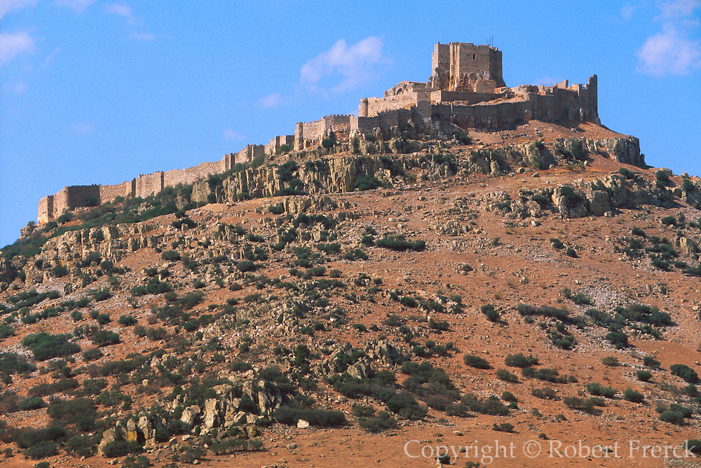 SPAIN, CASTILE-LA MANCHA Calatrava; Castle and Monastery