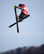 PYEONGCHANG-GUN, SOUTH KOREA - FEBRUARY 18: Teal Harle of Canada during the Freestyle Skiing Men's slopestyle final on day nine of the PyeongChang 2018 Winter Olympic Games at Phoenix Snow Park on February 18, 2018 in Pyeongchang-gun, South Korea. Photo by Nils Petter Nilsson/Ombrello               ***BETALBILD***