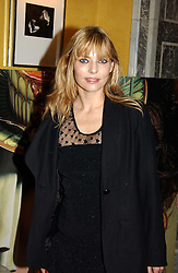 Fashion designer JEMIMA FRENCH at the launch of MAC's High Tea collection with leading British designers held at The Berkeley Hotel, London on 17th January 2005.  MAC has collabroated with The Berkeley's Pret-a-Portea, which adds a creative twist to th classic elements of the English afternoon tea with cakes and pastries inspired by fashion designs.<br /><br />NON EXCLUSIVE - WORLD RIGHTS
