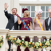 NLD/Den Haag/20190917 - Prinsjesdag 2019, Koning Willem Alexander, Koningin Maxima, Prinses Laurentien, Prins Constantijn