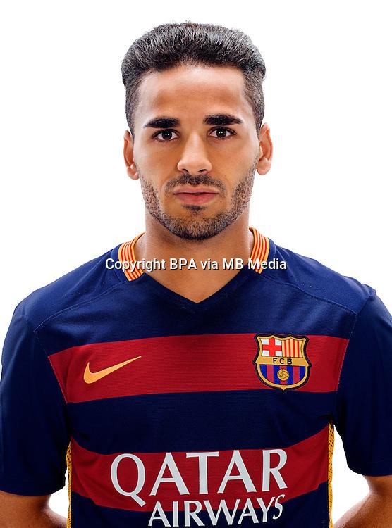 Spain - Liga BBVA 2015-2016 / <br /> ( Fc Barcelona ) - <br /> Lord Douglas Pereira dos Santos