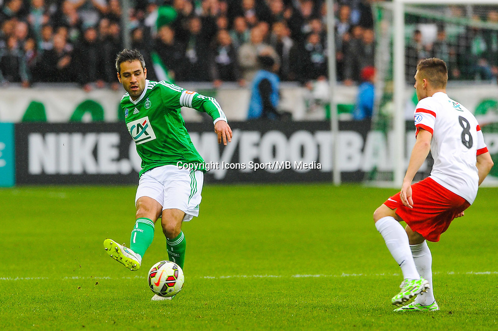 Loic PERRIN  - 04.01.2015 - Saint Etienne / Nancy - Coupe de France<br /> Photo : Jean Paul Thomas / Icon Sport