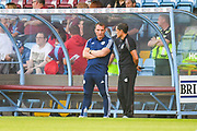 Brendan Rodgers of Leicester City (Manager) before the Pre-Season Friendly match between Scunthorpe United and Leicester City at Glanford Park, Scunthorpe, England on 16 July 2019.