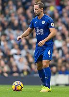 Football - 2016 / 2017 Premier League - Tottenham Hotspur vs. Leicester City<br /> <br /> Daniel Drinkwater of Leicester City at White Hart Lane.<br /> <br /> COLORSPORT/DANIEL BEARHAM
