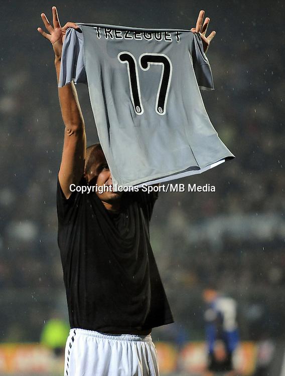 David TREZEGUET - 08.11.2009 - Atalanta / Juventus de Turin  - 12eme journee de Serie A<br />Photo : Aldo Liverani / Icon Sport *** Local Caption ***