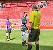 Johan Cruijff ArenA, Amsterdam. FC Kensington vs FC Coen en Sander. Yes R en Roelof Luinge