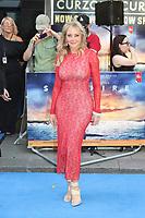 Carol Vorderman, Spitfire - World Premiere, Curzon Mayfair, London, UK, 09 July 2018, Photo by Richard Goldschmidt