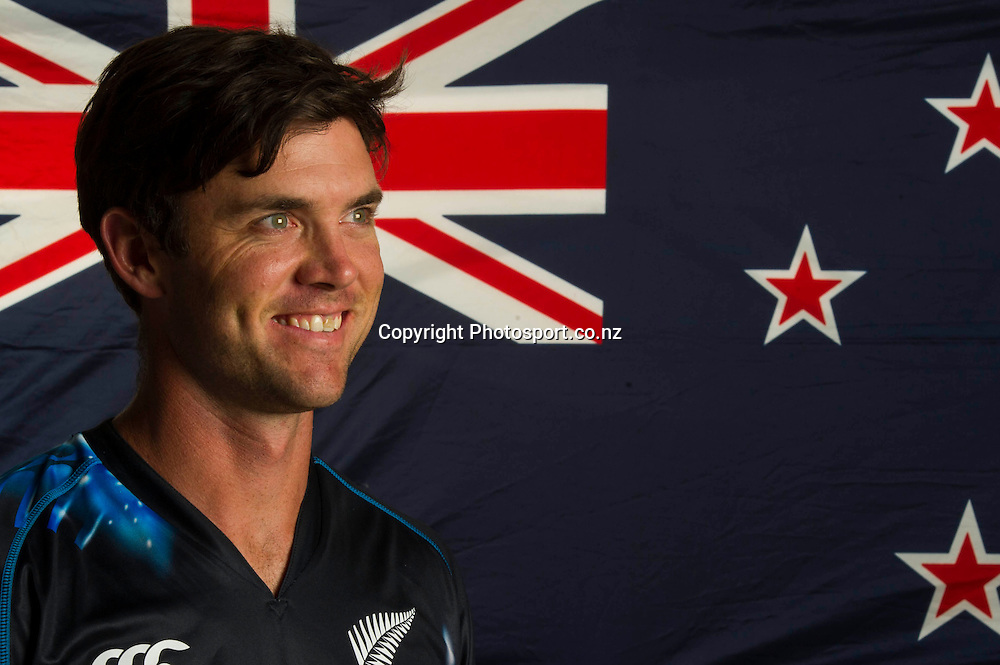 James Franklin, New Zealand Black Caps photoshoot and portrait / headshots session. International Cricket. 17 December 2012. Photo: Photosport.co.nz