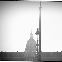 Paris, France. <br /> I creatively worked on this image to give us the sense of the city and its age.. Something iconic and historic.