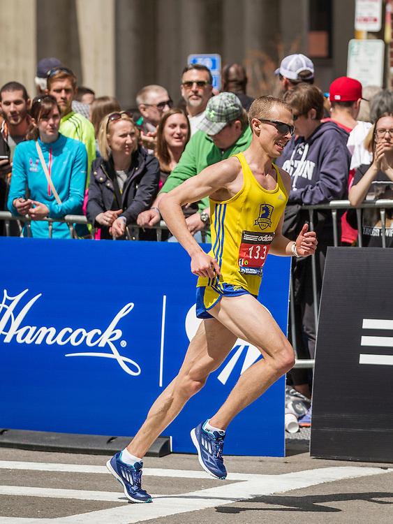 2014 Boston Marathon: Eric Ashe, BAA