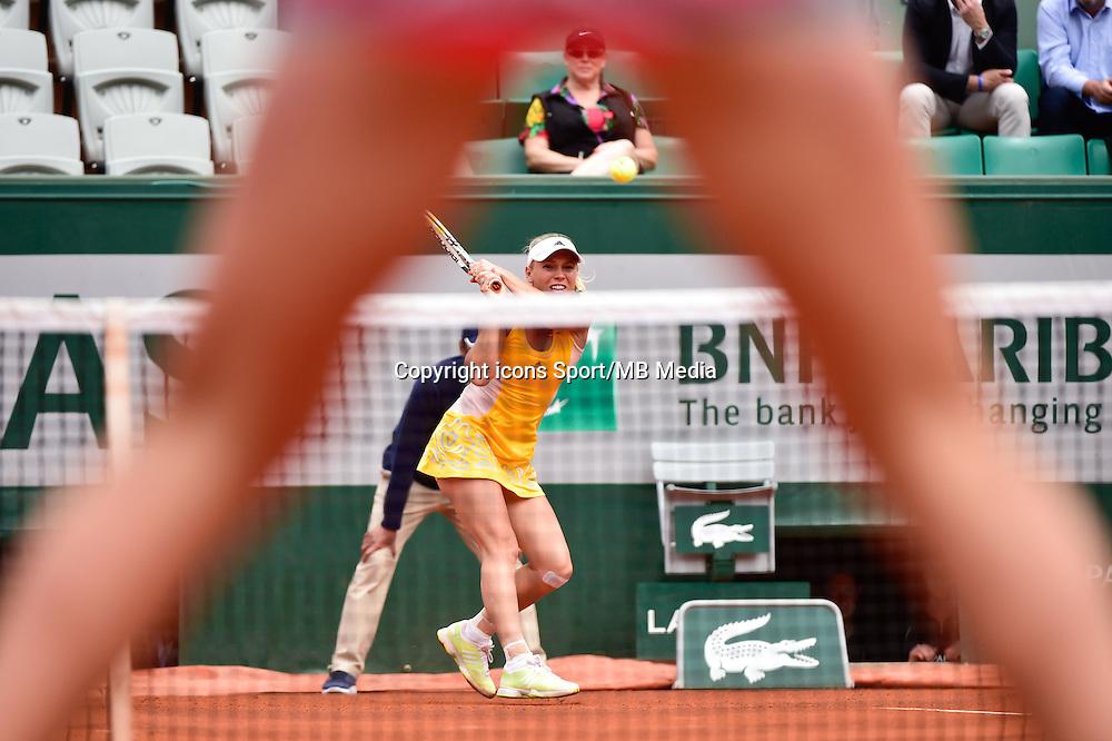 Caroline WOZNIACKI  - 26.05.2015 - Jour 3 - Roland Garros 2015<br />Photo :  Dave Winter / Icon Sport