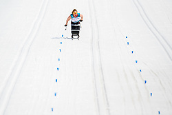 March 17, 2018 - Pyeongchang, SOUTH KOREA - 180317 Birgit Skarstein of Norway competes in the women's 5 km sitting cross-country skiing during day eight of the 2018 Winter Paralympics on March 17, 2018 in Pyeongchang..Photo: Vegard Wivestad GrÂ¿tt / BILDBYRN / kod VG / 170134 (Credit Image: © Vegard Wivestad Gr¯Tt/Bildbyran via ZUMA Press)