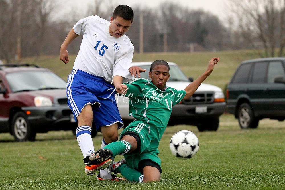 March/22/11:  MCHS JV Boys Soccer vs William Monroe.  Madison loses to William Monroe 2-0.