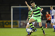 Forest Green Rovers Taylor Marsh(11) during the The FA Youth Cup match between Bristol Rovers and Forest Green Rovers at the Memorial Stadium, Bristol, England on 2 November 2017. Photo by Shane Healey.