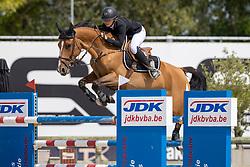 De Hornois Caro-Belle, BEL, Idyllis L<br /> Belgisch Kampioenschap Jeugd Azelhof - Lier 2020<br /> © Hippo Foto - Dirk Caremans<br /> 02/08/2020