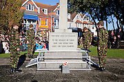 Ceremony of Remembrance at Seaford, East Sussex on 11 November 2012 Seaford Army Cadet Force