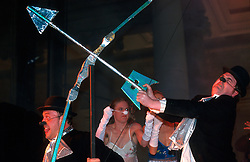 IRELAND DUBLIN 17MAR00 - A Theatre company performs on stage the night before the St. Patrick's Day celebrations in Dublin...jre/Photo by Jiri Rezac..© Jiri Rezac 2000..Contact: +44 (0) 7050 110 417.Mobile:  +44 (0) 7801 337 683.Office:  +44 (0) 20 8968 9635..Email:   jiri@jirirezac.com.Web:     www.jirirezac.com..© All images Jiri Rezac 2000 - All rights reserved.