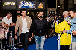 Lorenzo Buenaventura & Carles Planchart attends the World Premiere of Prime Video series. All or Nothing: Manchester City, at The Printworks in Manchester ahead of its release on Friday.