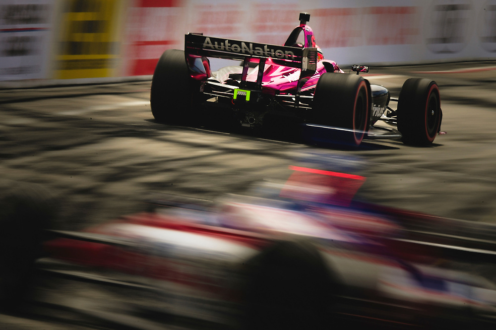 Jack Harvey, Meyer Shank Racing with Schmidt Peterson Honda<br /> Sunday 15 April 2018<br /> Toyota Grand Prix of Long Beach<br /> Verizon IndyCar Series<br /> Streets of Long Beach, California USA<br /> World Copyright: Scott R LePage<br /> LAT Images
