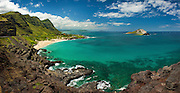Rabbit Island from Makapuu Lookout, Oahu, Hawaii