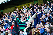 Millwall fans during the Sky Bet Championship match at The Den, London<br /> Picture by David Horn/Focus Images Ltd +44 7545 970036<br /> 03/05/2014
